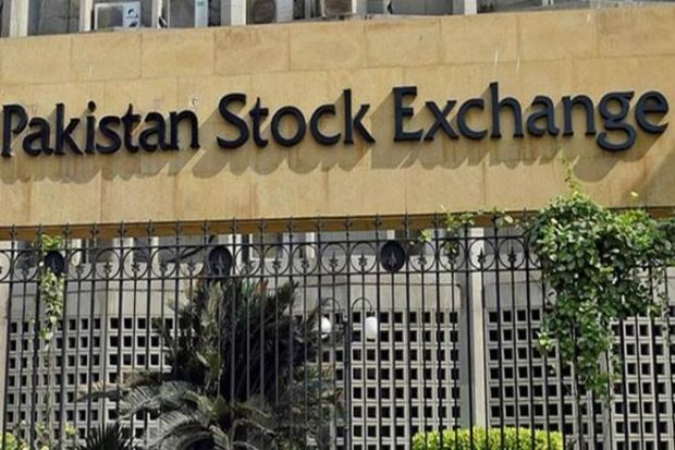 Pakistan's KSE 100 index jumps 400 points hours after an attack on stock exchange kills 10