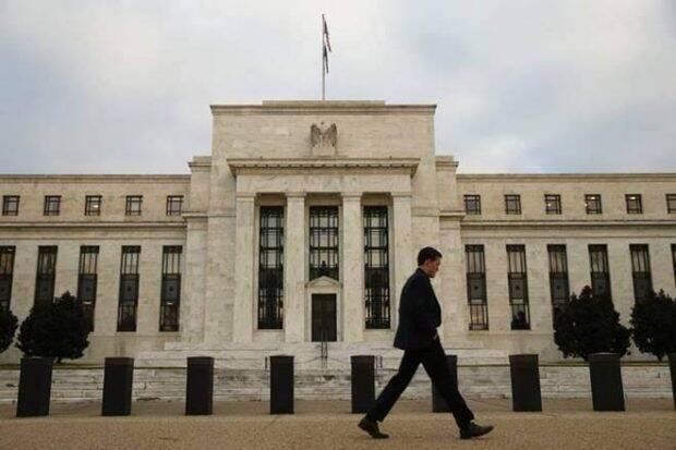 Global stocks lower ahead of US Fed chair's speech