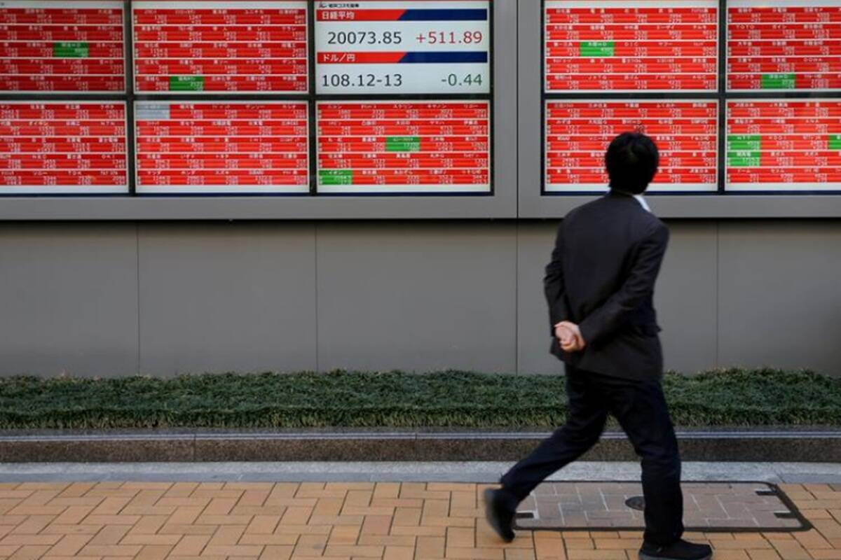 Asian shares mostly higher as focus shifts to virus recovery